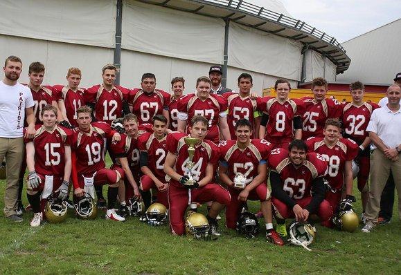 Patriots gewinnen AFVT Spring Youth Cup
